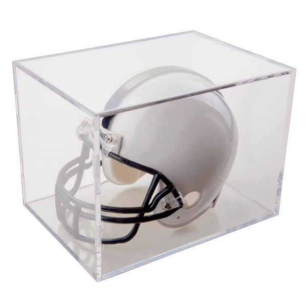 Mini-Helmet Clear Square Display by Ballqube