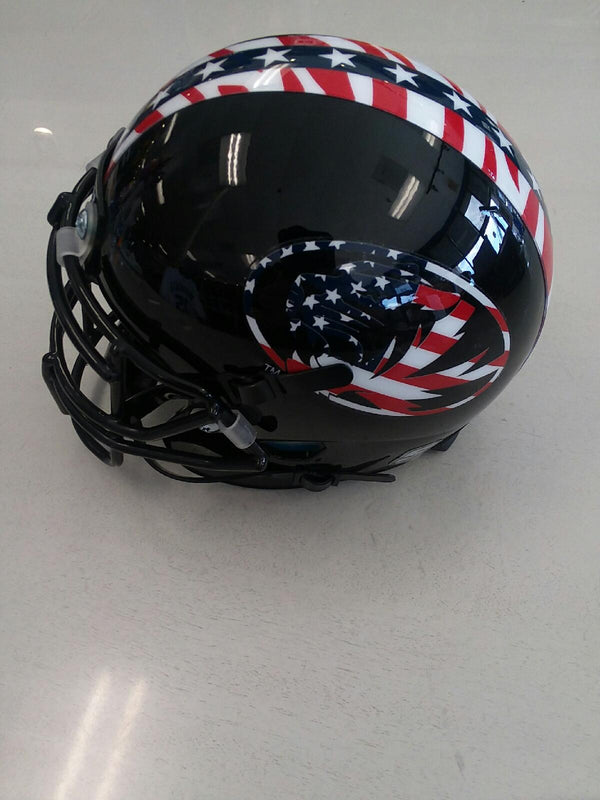 Missouri Tigers Veteran's Day Schutt XP MINI Football Helmet