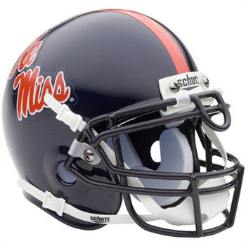 University of Mississippi Ole Miss Mini Helmet
