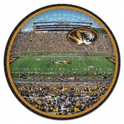 Missouri Tigers Stadium 500 pc Puzzle in Box by Wincraft