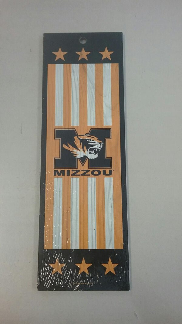 "Missouri Tigers 4""x12"" Wood Sign by Wincraft"