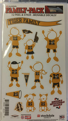 Missouri Tigers Family Pack Decals by Stockdale