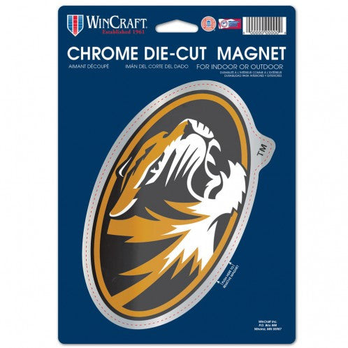 Missouri Tigers Chrome Magnet 6.25 x 9 by Wincraft