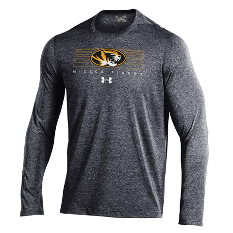 Missouri Tigers Long Sleeve Threadborne Roving Tee by Under Armour