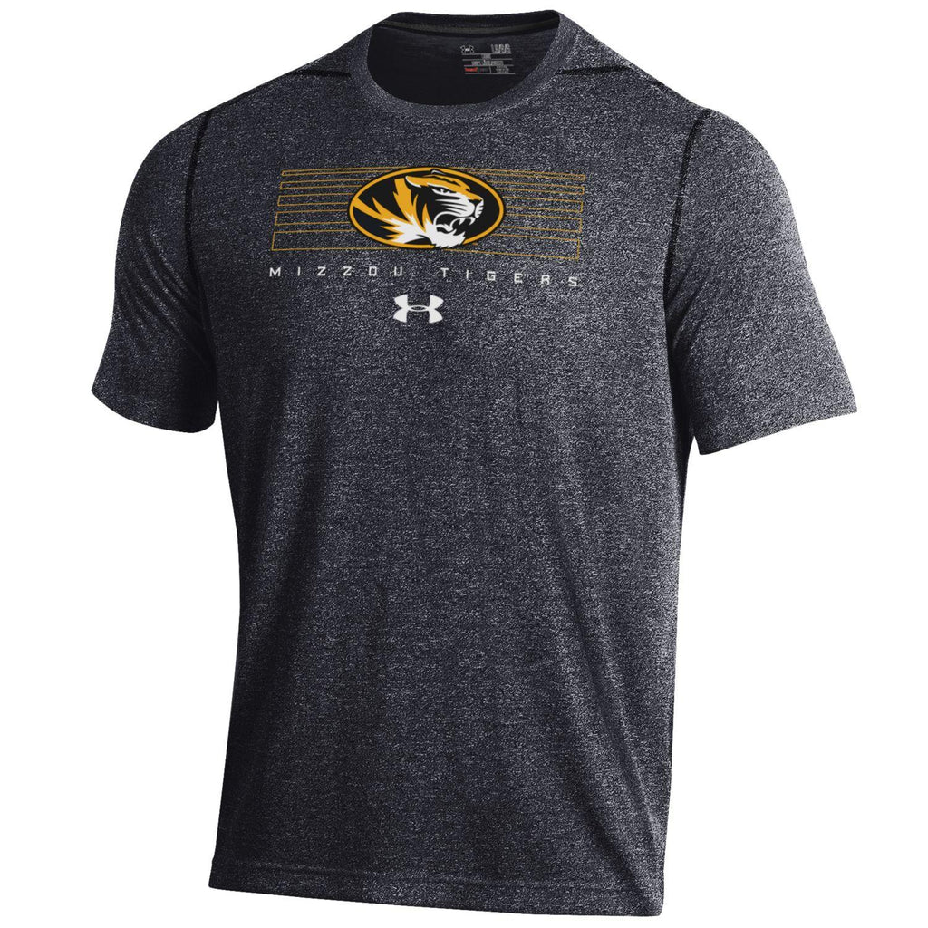 Missouri Tigers Short Sleeve Threadborne Roving Tee by Under Armour