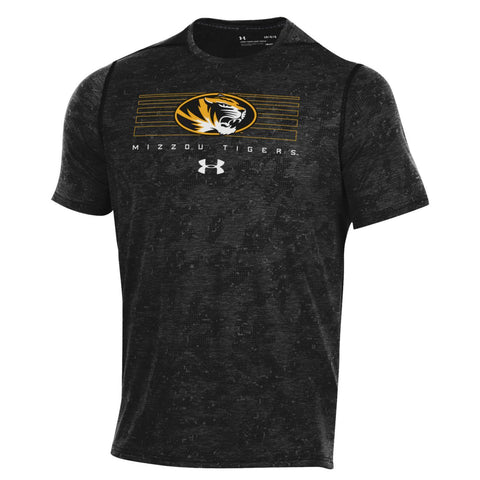 Missouri Tigers Short Sleeve Threadborne Wetprint Camo Tee by Under Armour