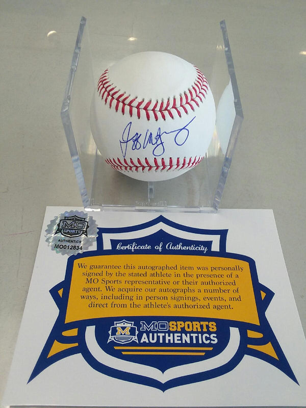 Kansas City Royals Jeff Montgomery Signed Autographed OMLB Baseball COA