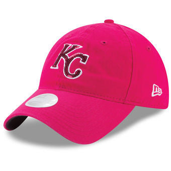 Kansas City Royals Mother's Day Team Glimmer Ladies 9TWENTY Hat by New Era