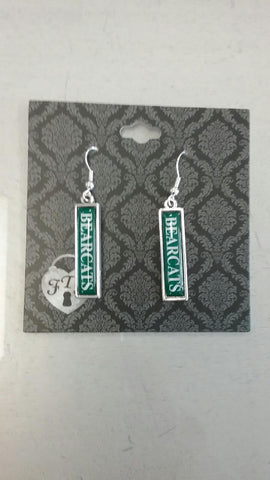 Northwest Missouri State Dangle Wordmark Earrings by Haute