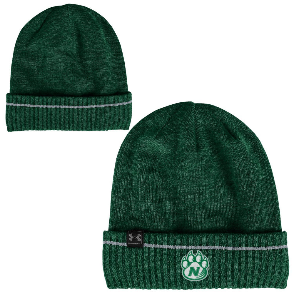 Northwest Missouri State Forest Green Skull Knit Hat by Under Armour