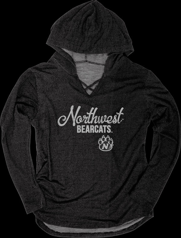 Northwest Missouri State Kenzie Premium Terry Hoodie by Blue 84