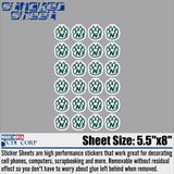 Northwest Missouri State Sticker Sheet