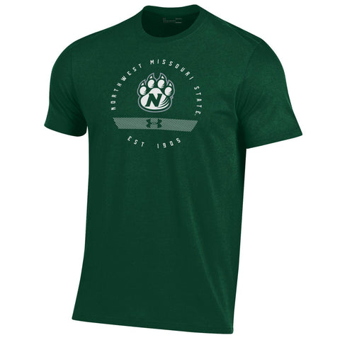 Northwest Missouri State Short Sleeve Circle Logo Performance Cotton T-Shirt by Under Armour