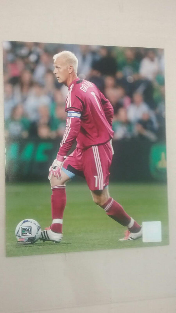 "Sporting Kansas City Jimmy Nielsen Glossy 8""x10"" Photo"