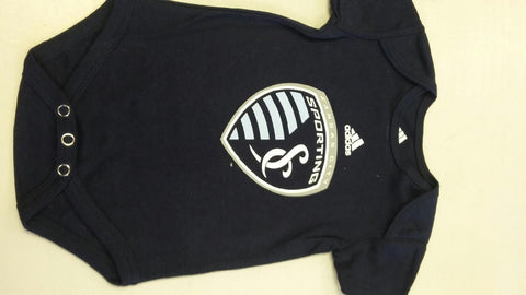 Sporting Kansas City Navy Blue Infant Onesie by adidas