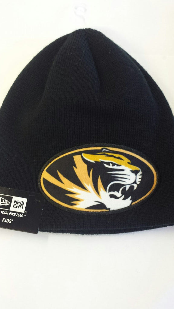 Missouri Tigers Youth Size Jr. Oversizer Knit Hat by New Era