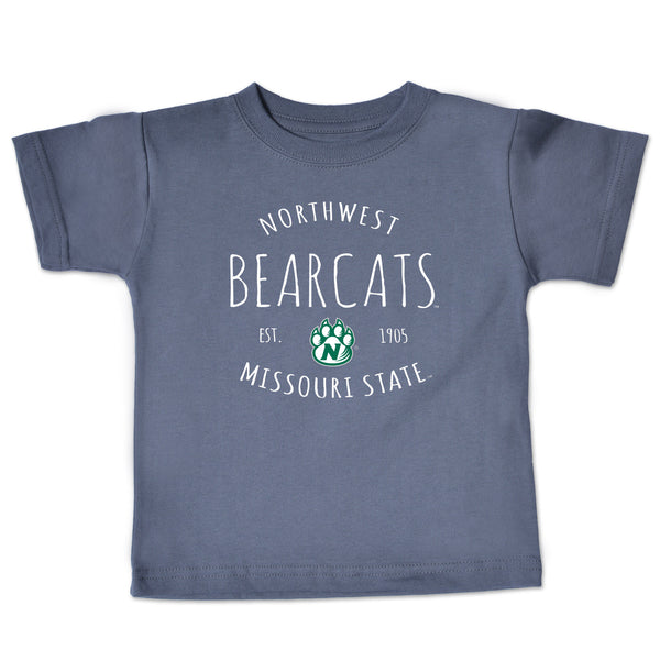 Northwest Missouri State Gray Infant T-Shirt