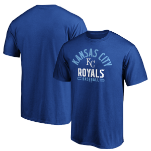Kansas City Royals Iconic Cotton Arched Stencil SS - by Fanatics