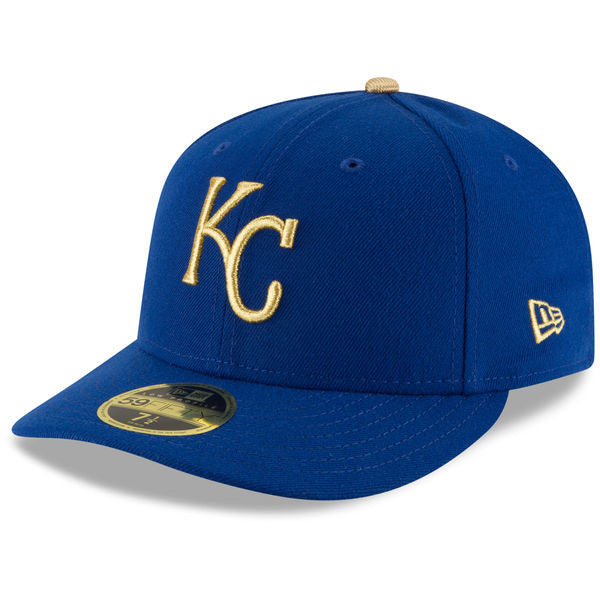 Kansas City Royals 2017 Gold Low Profile 59FIFTY Hat by New Era