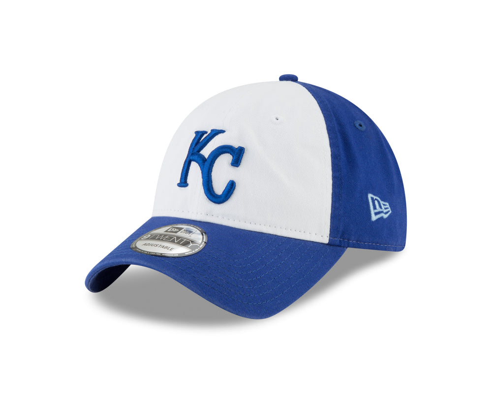 Kansas City Royals 2 Tone Core Classic Adjustable 9TWENTY Hat by New Era