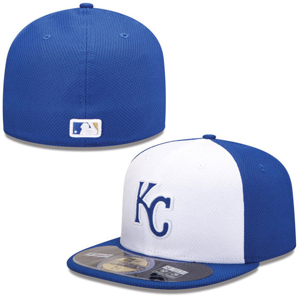 Kansas City Royals Home Batting Practice 59FIFTY Fitted Hat by New Era