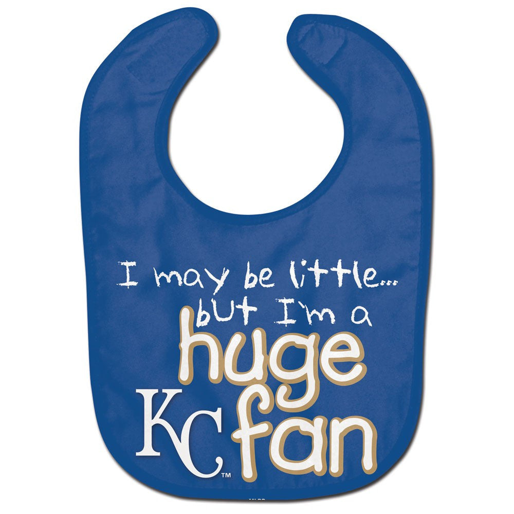 Kansas City Royals Huge Fan All Pro Baby Bib by McArthur