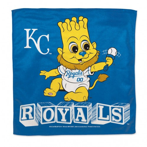 "Kansas City Royals / Littlest Fan MLB Burp Cloth 16"" x 16"""