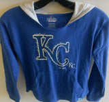Kansas City Royals Girls The Closer Pullover Hood by Outerstuff
