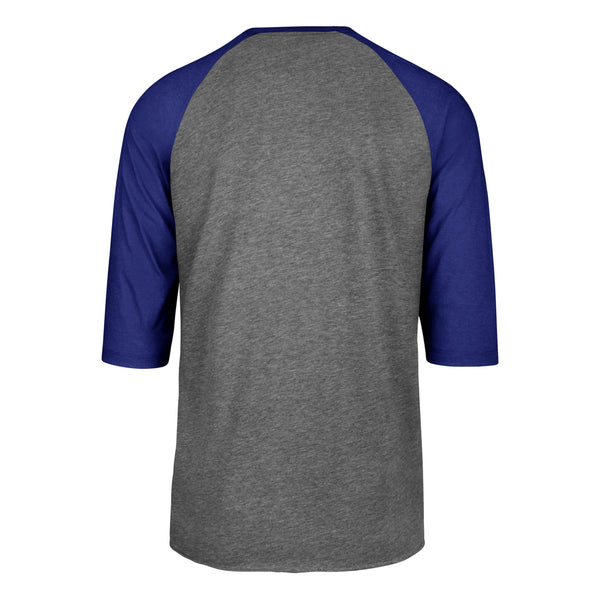 Kansas City Royals Gray Imprint Club Raglan Baseball Tee by '47 Brand