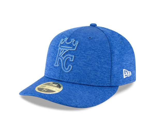 Kansas City Royals 2018 Clubhouse Royal Blue Low Profile 59FIFTY Hat by New Era