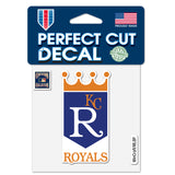 Kansas City Royals / Cooperstown Perfect Cut Color Decal 4