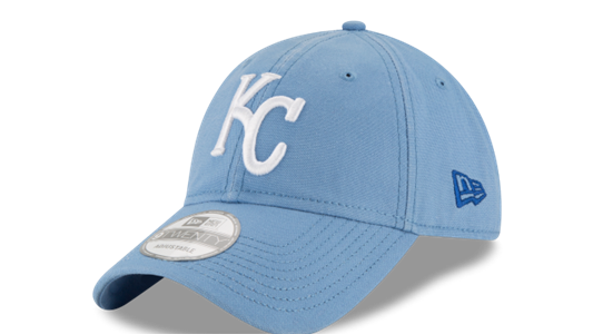 Kansas City Royals Core Shore Secondary Adjustable 9TWENTY Hat by New Era