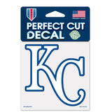 Kansas City Royals Perfect Cut Color Decal 4