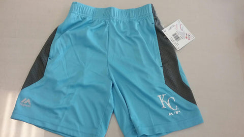 Kansas City Royals CoolBase Boys Excitement Shorts by Outerstuff