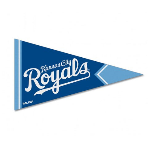 "Kansas City Royals Felt Pennant Magnet 2.5"" x 4.25"""