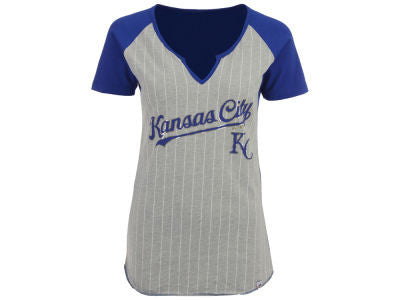 Kansas City Royals Girls From The Stretch Notch T-Shirt by Outerstuff