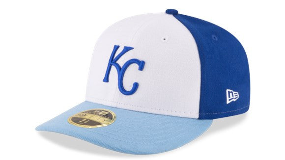 Kansas City Royals Front N Center Low Profile 5950 Hat By New Era