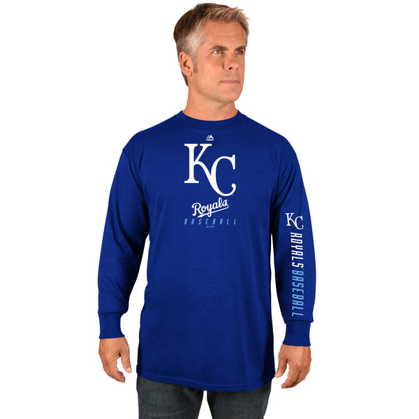 Kansas City Royals Game Supreme Long Sleeve T-Shirt by Majestic