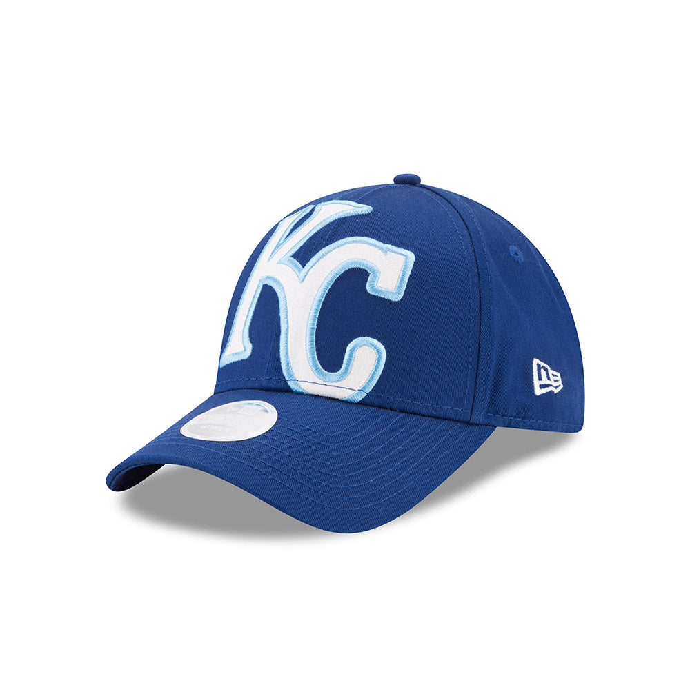 the latest 4f1fd 8d14e Kansas City Royals Youth Girls Glitter Glam Adjustable 9FORTY Hat by New Era