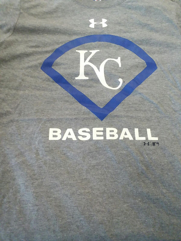 Kansas City Royals Gray Icon T-Shirt by Under Armour
