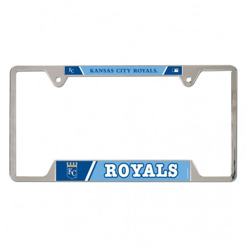 Kansas City Royals Metal License Plate Frame