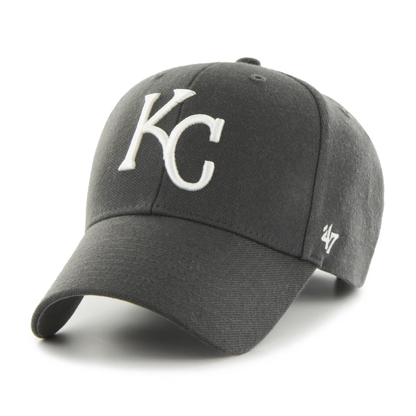 Kansas City Royals Charcoal MVP Adjustable Hat by '47 Brand