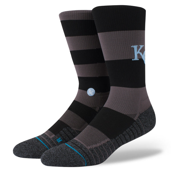 Kansas City Royals Men's Large 9-12 Nightshade Crew Socks by Stance