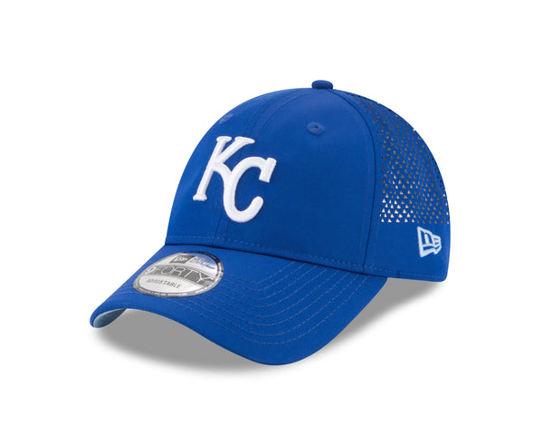 Kansas City Royals Perf Pivot 2 Adjustable 9FORTY Hat by  New Era