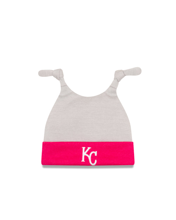 Kansas City Royals Infant Pink Shadow Knit Hat by New Era