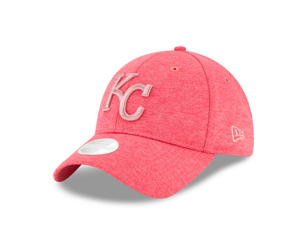 Kansas City Royals Ladies Pink Shadow Twist Adjustable 9TWENTY Hat by New Era