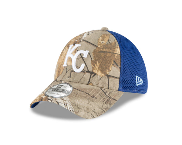 Kansas City Royals Real Tree Neo 39THIRTY Hat by New Era