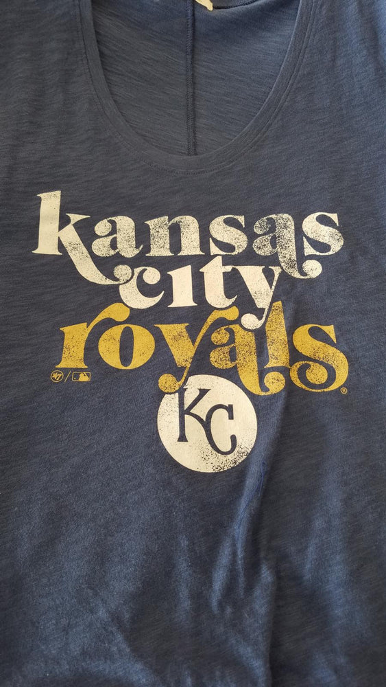 Kansas City Royals '47 Brand Ladies Scoop Neck Scrum Tee