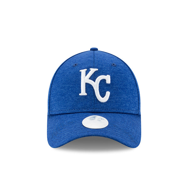 Kansas City Royals Shadow Sleek Ladies Adjustable 9TWENTY Hat by New Era