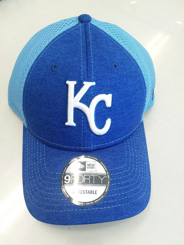 Kansas City Royals Shadow Turn 2 Adjustable 9FORTY Hat by New Era